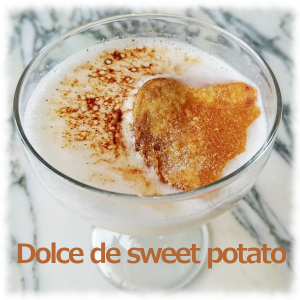 Dolce de sweet potato
